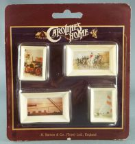 Caroline\'s Home - 4 Wall Paintings Dolls House Furniture Mint on Card