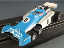 Carrera Universal 40410 - Tyrell P34 F1Blanche & Bleue N° 8