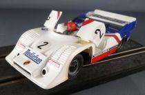 Carrera Universal 40476 - Porsche Turbo Redlefsen Blanche & Bleu N° 2