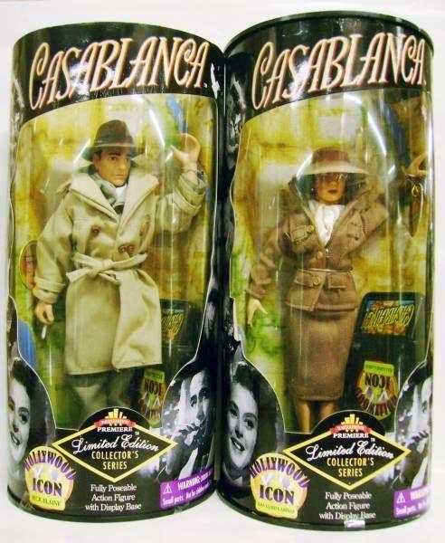 Casablanca - Rick Blaine (Humphrey Bogard) & Ilsa Lund Laszlo (Ingrid Bergman) - Exclusive Premiere