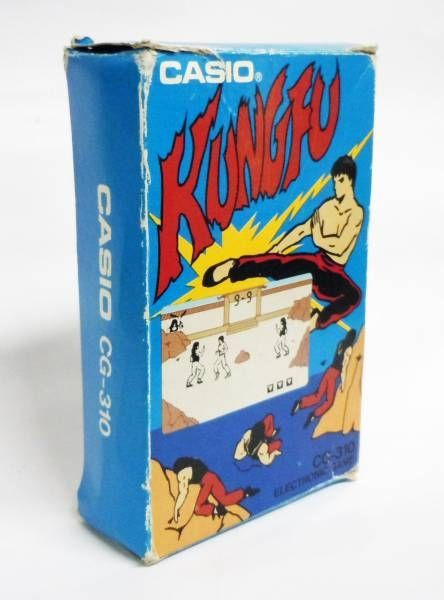 Casio - LCD Handheld Game - Kung-Fu CG-310
