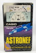 Casio Lansay - Handheld Game - Astronef Cosmo Thunder CG-81 (French Box)