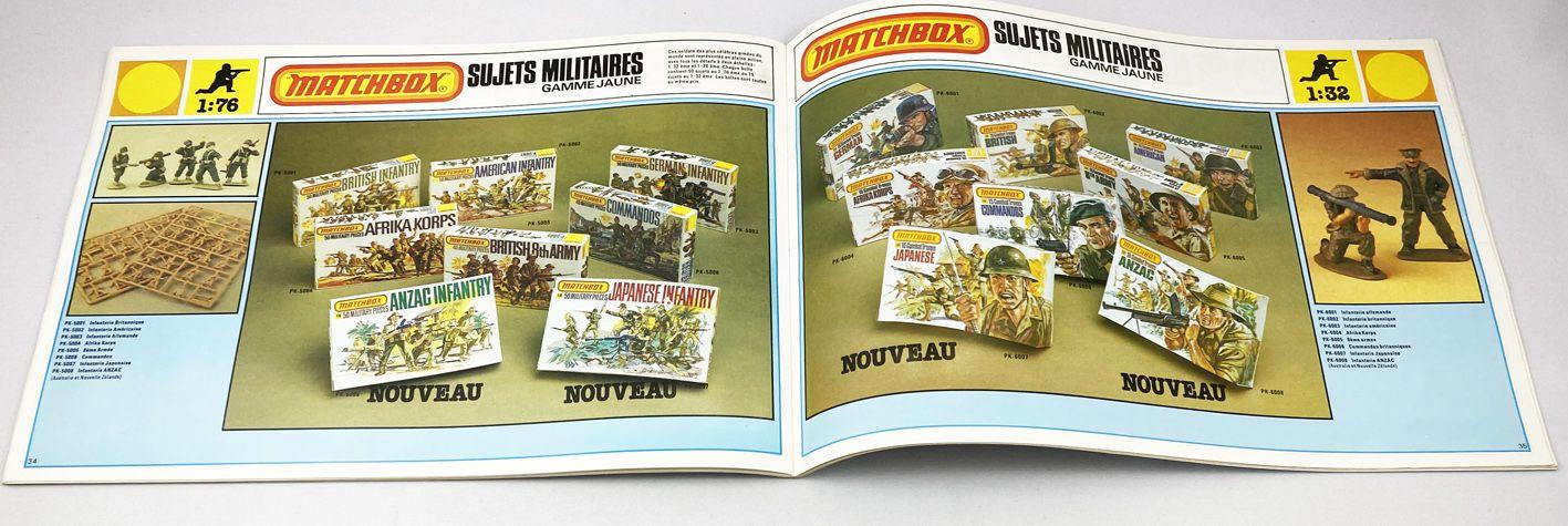 Catalogue de Maquettes Professionnel Matchbox AMT France 1989/80