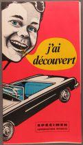 Catalogue Dépliant Jouets 1965 12x21cm Voiture à Pédales