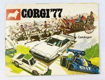 Catalogue Détaillant Français Corgi Toys 1977 (Corgi Junior, Corgi Super)