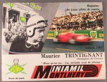 Catalogue Joma Miniamil Montlhéry 1963 - Voitures Pistes Accessoires