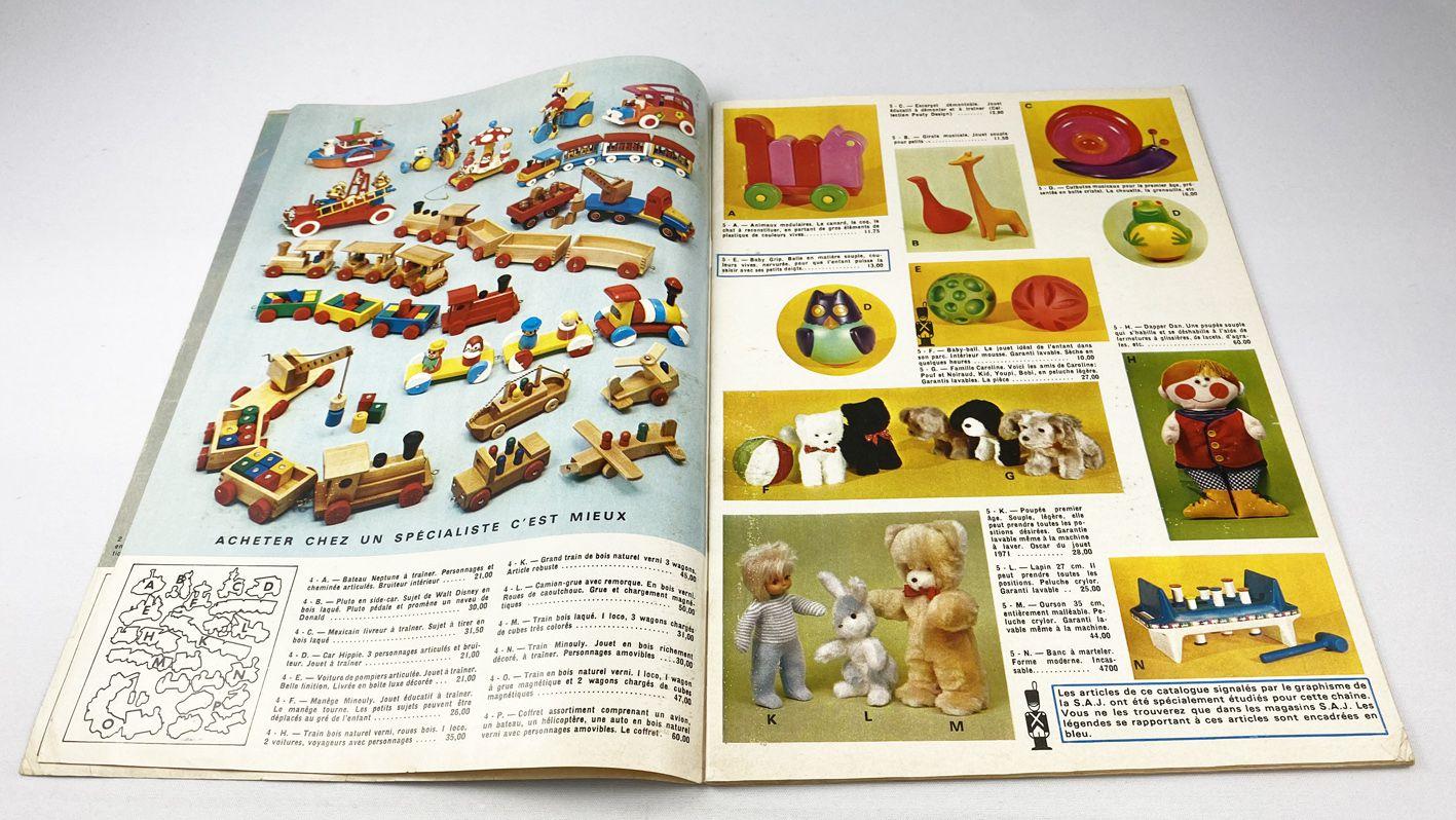Catalogue Jouets Détaillant Bambi (SAJ) 1971-1972