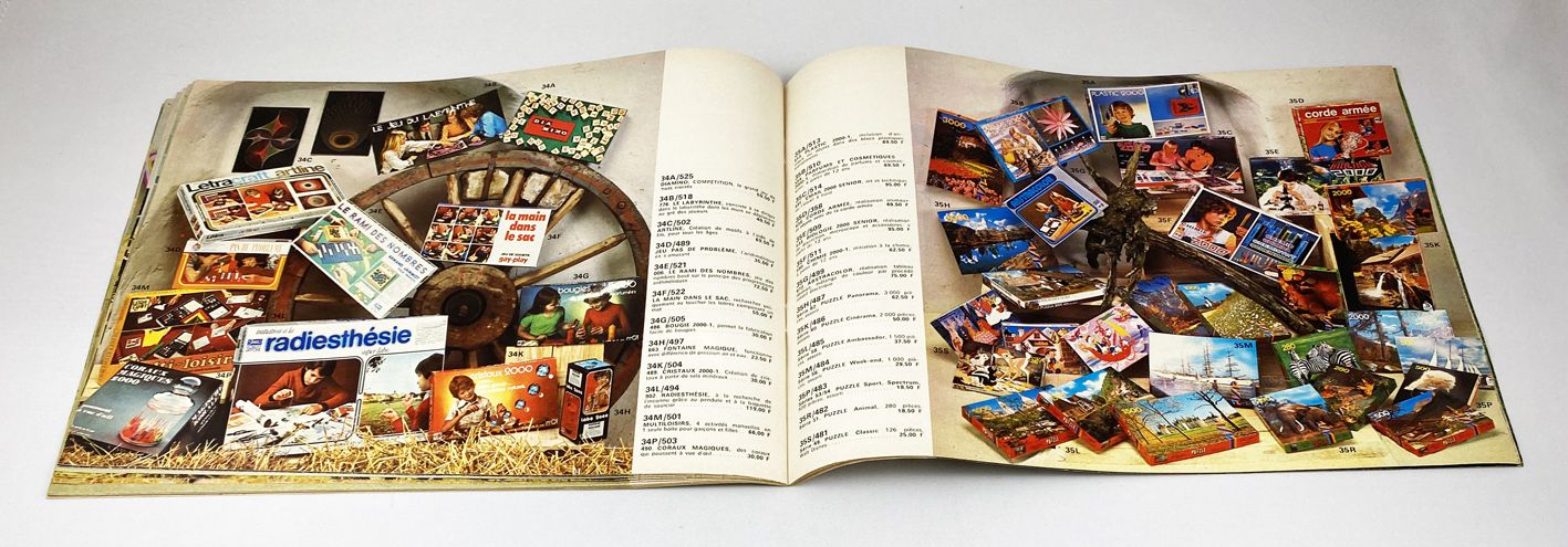 Catalogue Jouets Détaillant Difrajo 1976