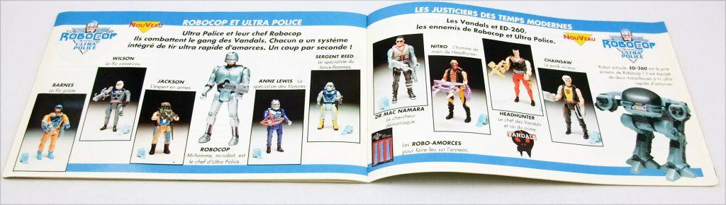 Catalogue jouets garçons Kenner Tonka France 1990
