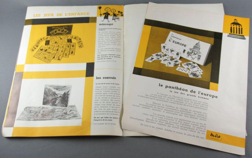 Catalogue Miro Jeux Ascot Long Cours Monopoly Conquette du Monde