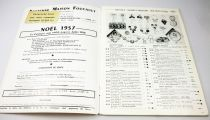 Catalogue professionnel Ancienne Maison Foucault Paris 1957