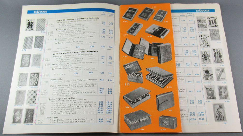 Catalogue Professionnel France Cartes 1964 Miro Ducale Grimaud Waddington De la Rue