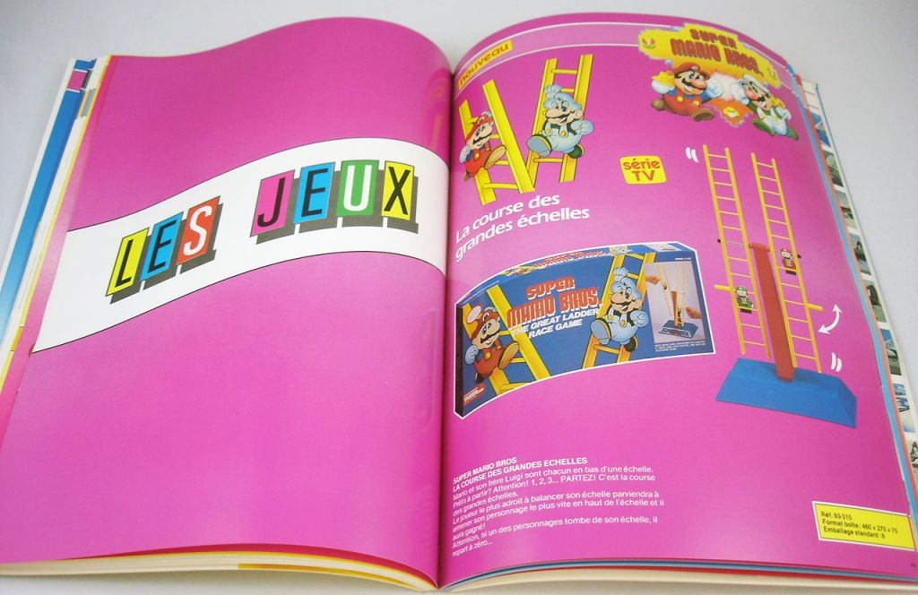 Catalogue professionnel Ideal Pipo Educalux France 1990