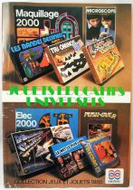 Catalogue professionnel Interlude Céji France 1980