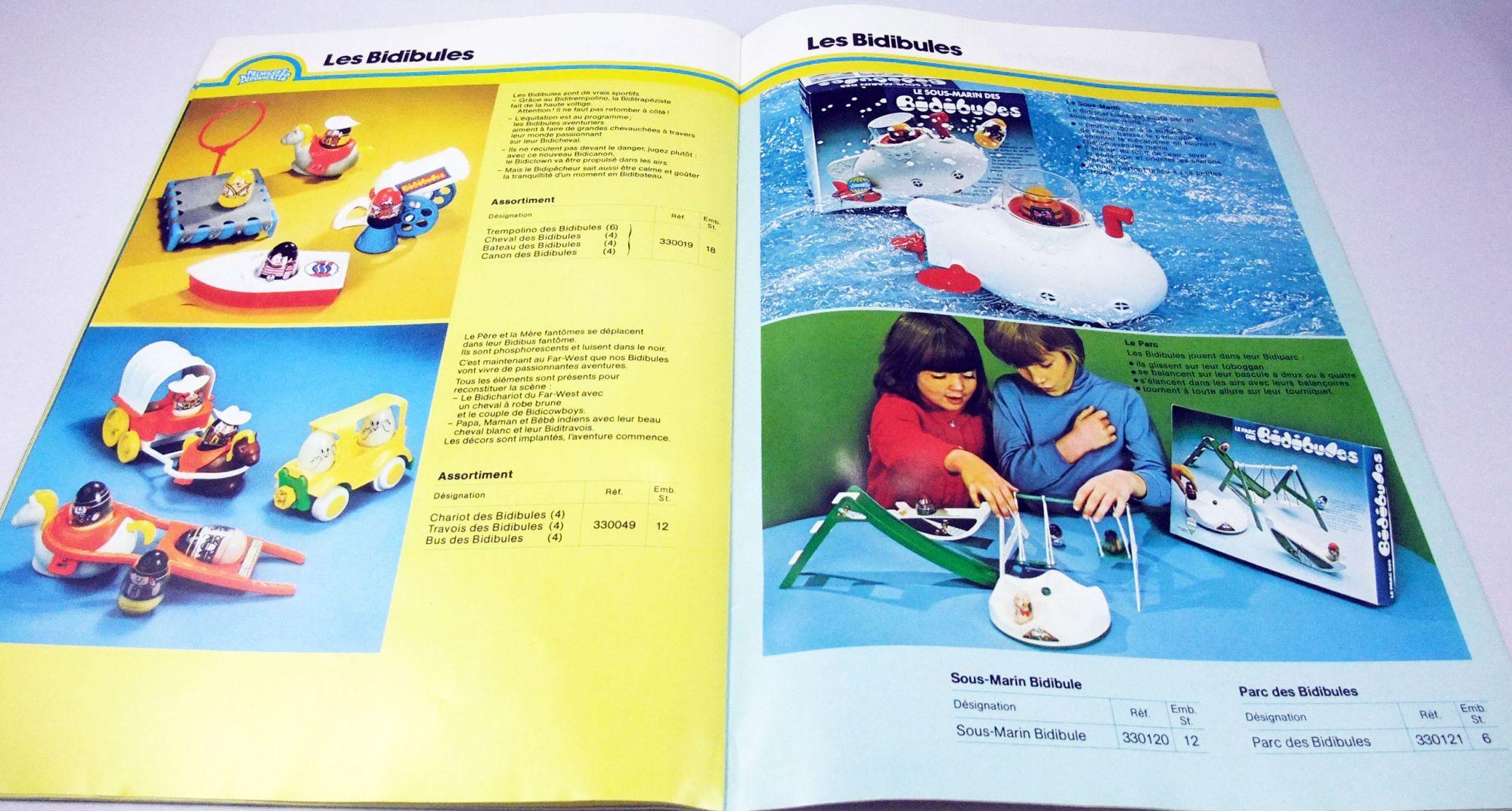 Catalogue professionnel Lines Bros Premières Découvertes 1979 (avec Les Bidibules)
