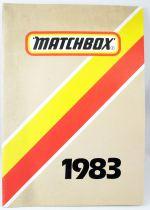 Catalogue professionnel Matchbox France 1983