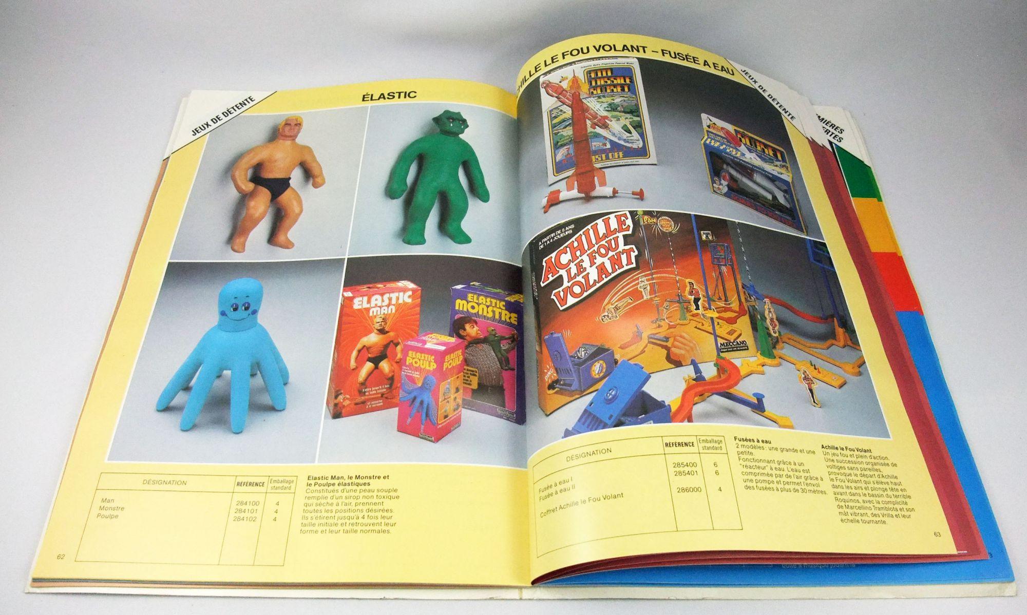 Catalogue professionnel Meccano France 1980