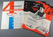 Catalogue Professionnel Philips1964 Boites de Montages Electroniques