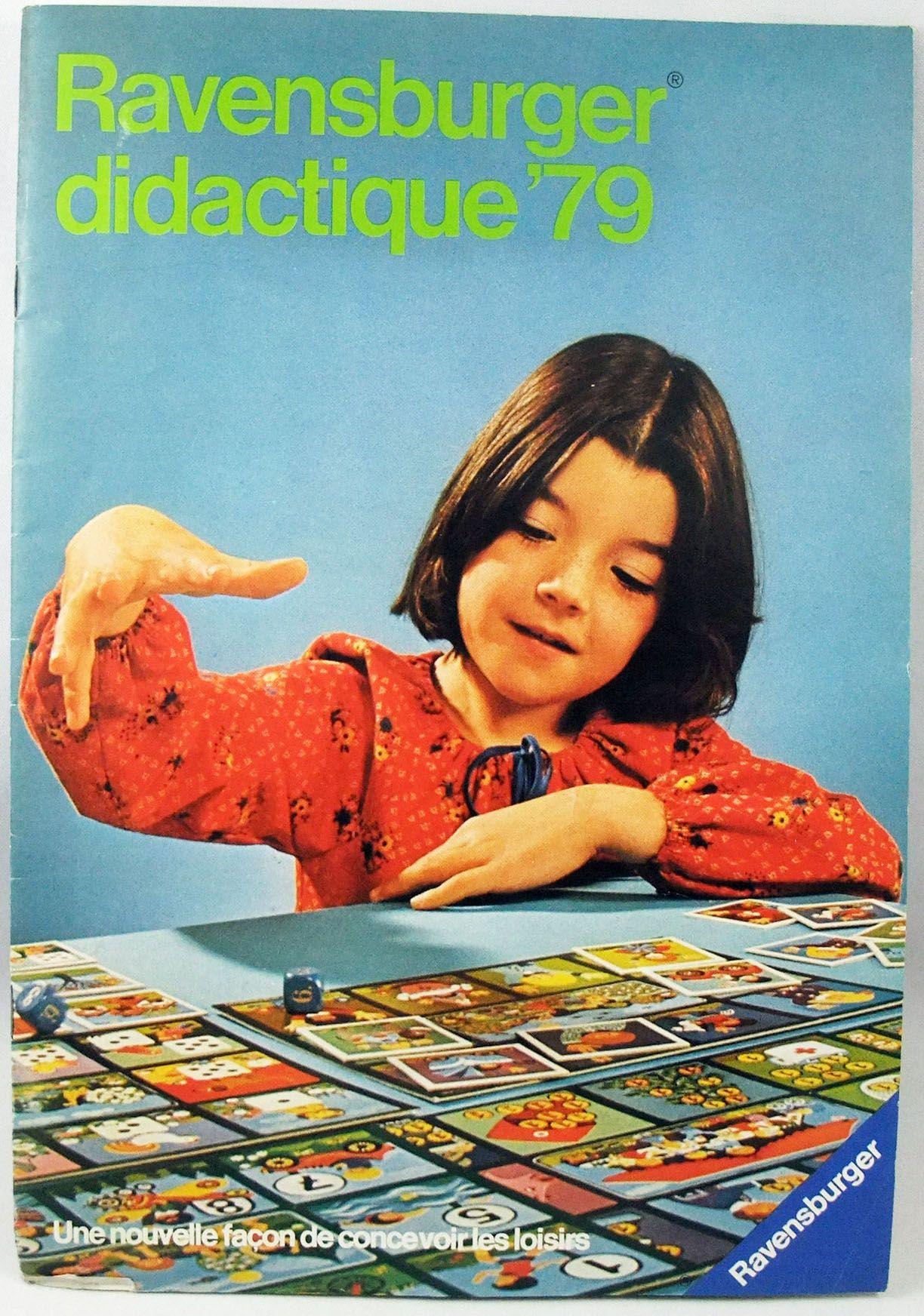 Catalogue professionnel Ravensburger didactique 1979