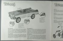 Catalogue Triang 1962 - Voitures à Pédales Tricycles Camions