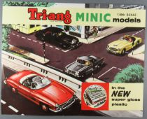 Catalogue Triang Minic Models 1963 - Voitures Electrique 1/20 Gamme Maximus & Major Animals