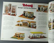 Catalogue Triang Professionnel 1962 - Voitures à Pédales Garage Station Service Châteaux Fort