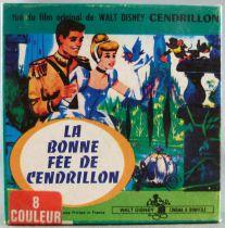 Cendrillon - Film Super 8 Couleur 15m Disney - La Bonne Fée de Cendrillon