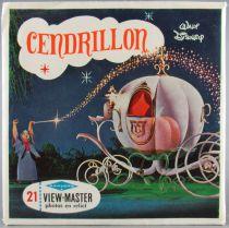 Cendrillon - Pochette de 3 View Master 3-D 2