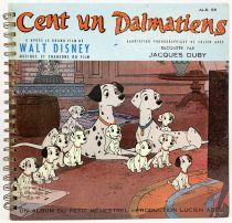 Cent un Dalmatiens - Livre-Disque 33T Le Petit Ménestrel (1961) - Histoire racontée par François Périer