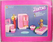 Chambre à coucher de Barbie - Mattel 1978 (ref.2150)