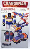 Changeman - DX Change Robo - Bandai Godaikin 1985