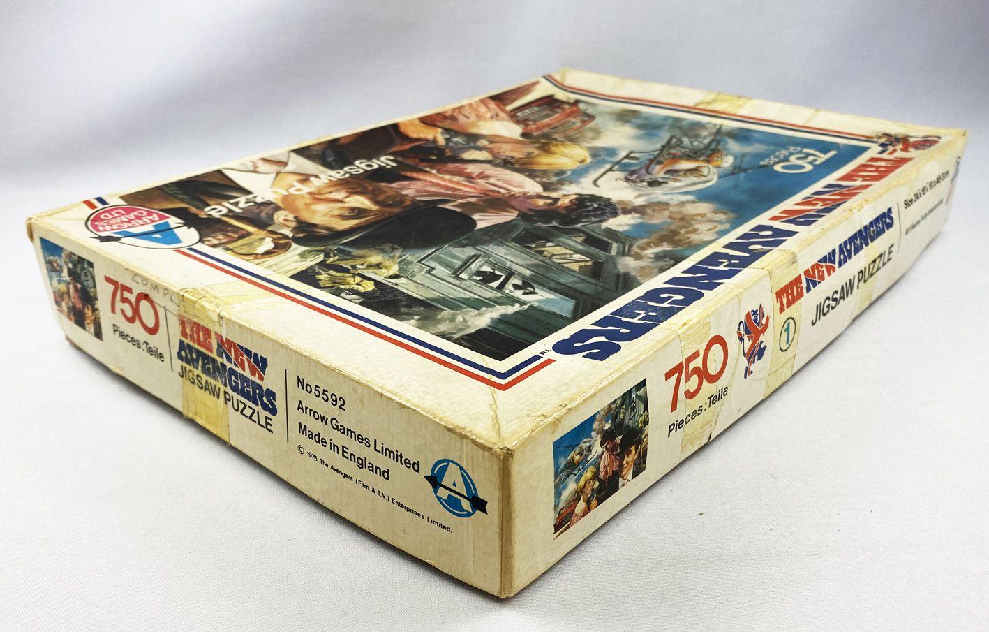 Chapeau Melon & Bottes de Cuir (The New Avengers) - Puzzle 750p (Arrow Games Ltd 1976)