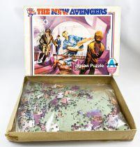Chapeau Melon & Bottes de Cuir (The New Avengers) - Puzzle 750p n°2 (Arrow Games Ltd 1976)