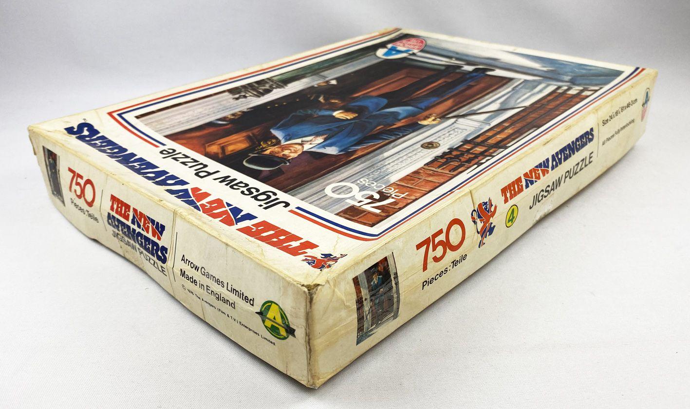 Chapeau Melon & Bottes de Cuir (The New Avengers) - Puzzle 750p n°4 (Arrow Games Ltd 1976)