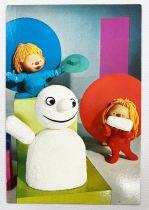 Chapi Chapo - Carparu Postal Card (1978) - Chapi Chapo and the Snowman