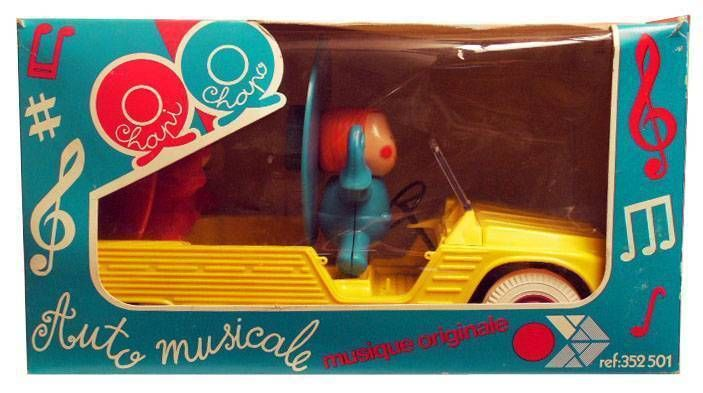 Chapi Chapo  Musical Citroen Mehari Mint in Box