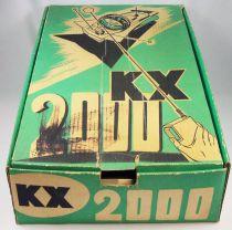 Char de l\'espace KX 2000 radio-commandé (version gris métal et vert) - S.L.J Société Lyonnaise de Jouets 1969