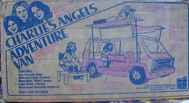 Charlie\'s Angels - Loose with box Hasbro Adventure Van