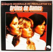 Charlie\'s Angels - Mini-LP Record - Original French TV series Soundtrack - EMI 1978