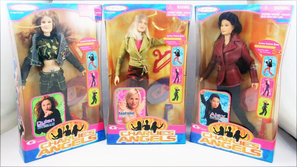 Charlie\'s Angels (Movie) - Dylan, Natalie, Alex - Set of 3 Jakks Pacific doll Series 2
