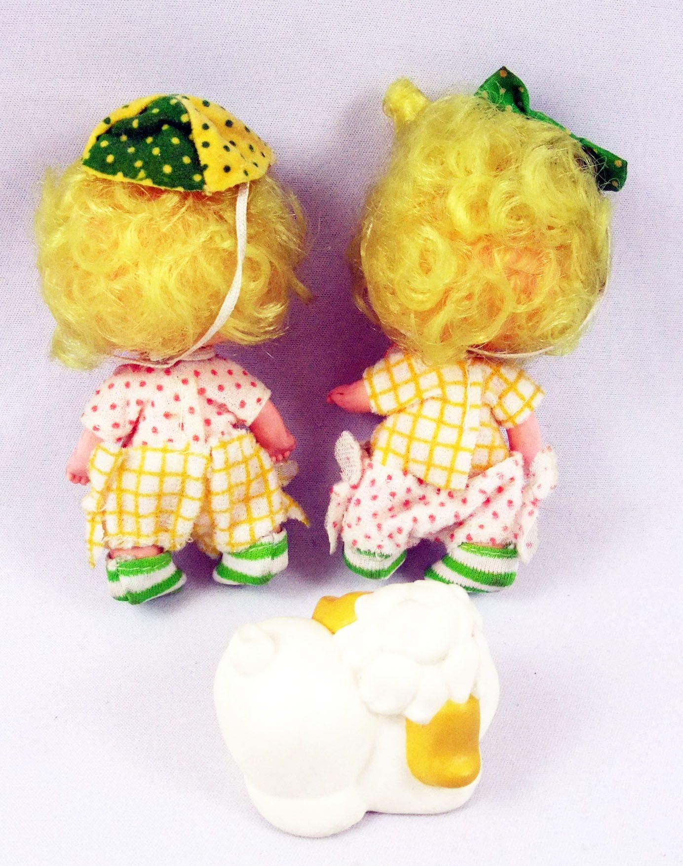Charlotte aux fraises - Lem and Ada & Sugar Woofer / Orange et Jade & Su-sucre (loose)