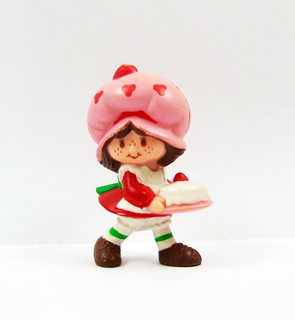 Charlotte aux fraises - Miniatures - Charlotte et le gâteau d\'anniversaire (loose) 01