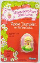 Charlotte aux fraises - Miniatures - Chausson aux Pommes sur Tortue Tartine