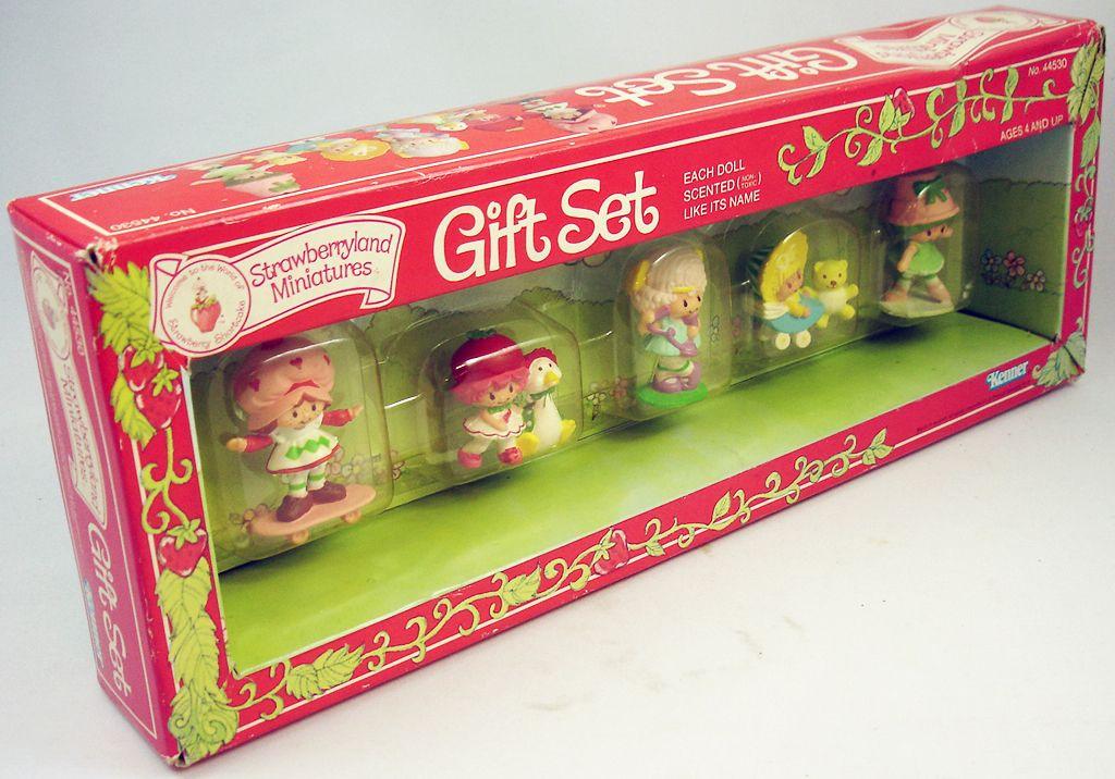 Charlotte Aux Fraises - Miniatures Coffret Gift Set De 5 Figurines