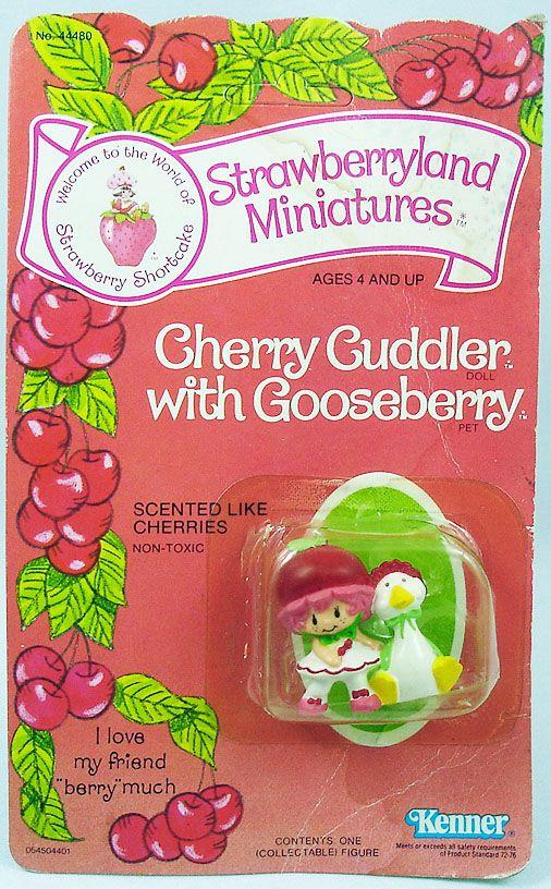 Charlotte aux fraises - Miniatures - Griottine et son oie Canelle