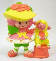 Charlotte aux fraises - Miniatures - Peau de Pêche et son éventail avec Clochette (loose)