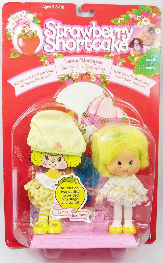"Charlotte aux Fraises THQ - Lemon Meringue \""Berry Fun Shopping\"""