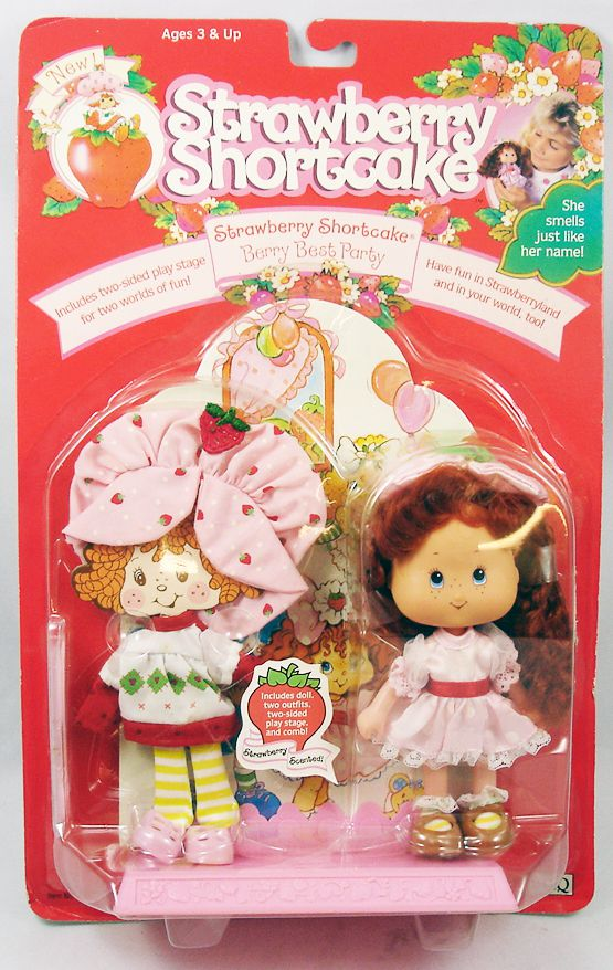 """Charlotte aux Fraises THQ - Strawberry Shortcake \""""Berry Best Party\"""""""