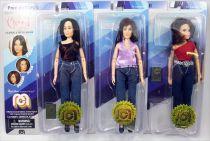 """Charmed - Mego - Prue, Phoebe & Piper Halliwell - \""""TV Favorites\"""" 8\"""" figures"""