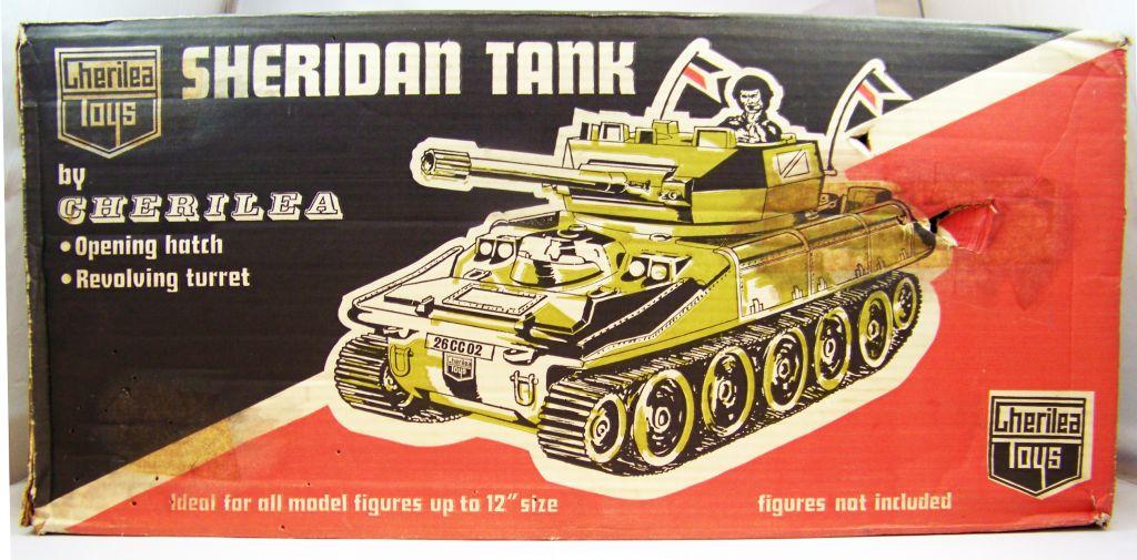 Cherilea - Sheridan Tank (Char) - Réf 2602 03